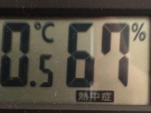 熱中症マークが出る湿度温度計